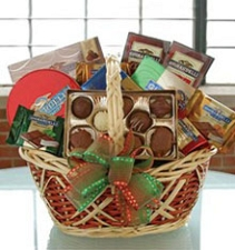 Chocolate Basket delivery to China