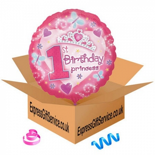 Happy 1st Birthday Princess delivery to UK [United Kingdom]