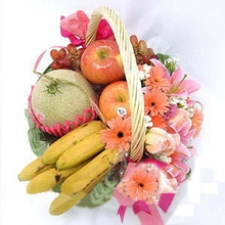 Good Fortune Fruit Basket delivery to China