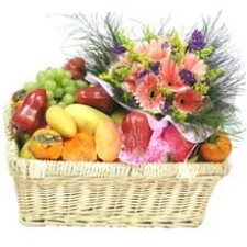 Fresh Four Season Fruit Basket delivery to China