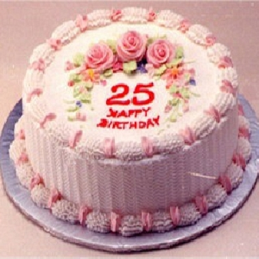 Pink Birthday Cake Online Cakes delivery to China