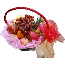 Fancy Fruit Basket C delivery to China