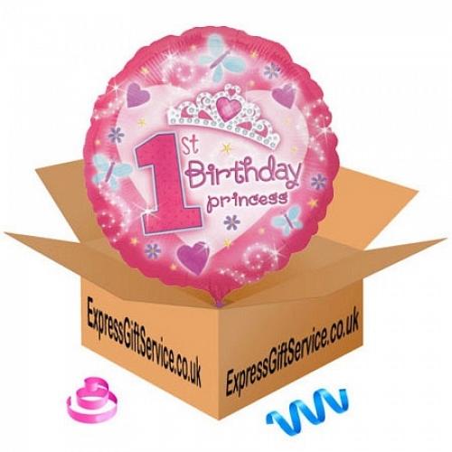 Happy 1st Birthday Princess delivery to UK [United Kingdom]