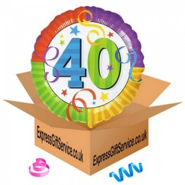 Birthday Perfect 40 Balloon Delivery UK