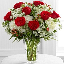 Christmas Greeting flowers delivery to China