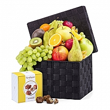 Classic Fruits and Belgian Chocolate Delivery Italy