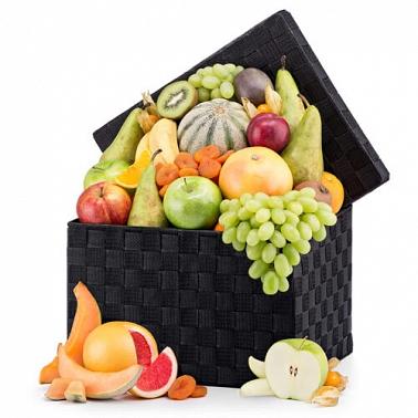 Classic Fruit Hamper Delivery to Belgium
