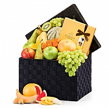 Fruit Hamper and Chocolate Delivery to Italy