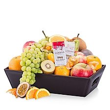 Classic Fruit Hamper and Chocolate Delivery to Belgium