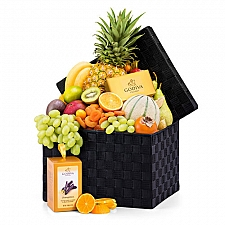 Exotic Fruit Hamper and Chocolate Delivery to Belgium