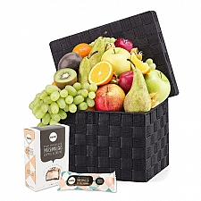 Fruit Hamper and Baru Marshmallows Delivery Belgium