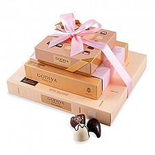 Godiva Spring Chocolate Tower Delivery to Iceland