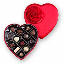 Godiva Luxury 13 PCS Heart Box Delivery to Italy