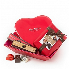 Neuhaus Romantic Gift Basket Delivery France