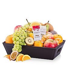 Classic Fruit Hamper and Chocolate Delivery to Switzerland