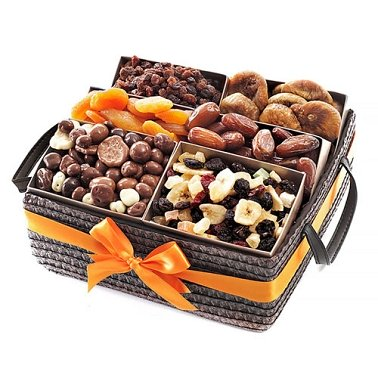 Dried Fruit Basket Delivery to Switzerland