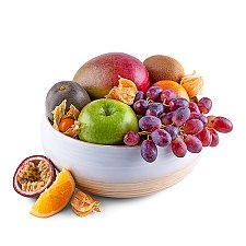 Ecological Bamboo Fruit Bowl Delivery Switzerland