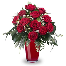 12 Classic Red Roses delivery to Egypt