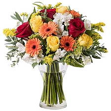 Floral Energy Mixed Flowers Delivery Austria