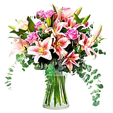 Roses and Lilies Delivery to Iceland