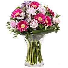 Roses and Gerberas Delivery to Indonesia
