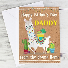 Personalised Llama Card delivery to UK [United Kingdom]