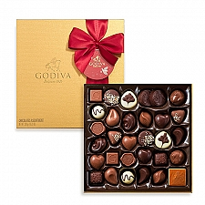 Godiva Christmas Gold Box, 34 pcs delivery to France