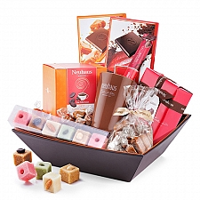 Neuhaus Chocolate and Marzipan Hamper delivery to Belgium