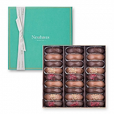 Neuhaus Irresistibles Prestige Box Turquoise, 27 pcs Treats delivery to Germany