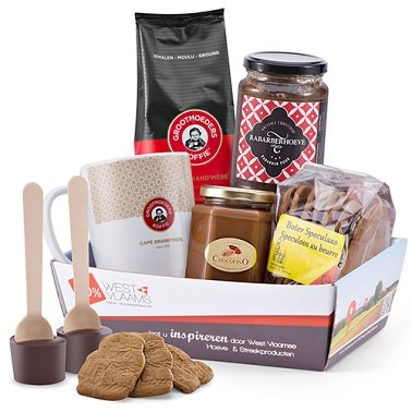 Belgian Breakfast Gift Delivery to Switzerland