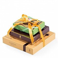 Godiva Golden Tower delivery to Italy