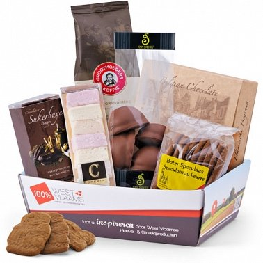 Belgian Coffee With Chocolates Delivery to Belgium