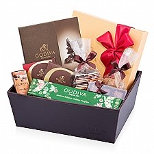 Godiva Chocolicious Christmas Party delivery to Italy