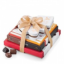 Neuhaus Seasons Greetings Tower Treats delivery to Italy
