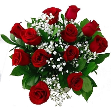 12 Luxury Red Roses Delivery UK