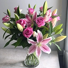 Lilies and Rose Joy