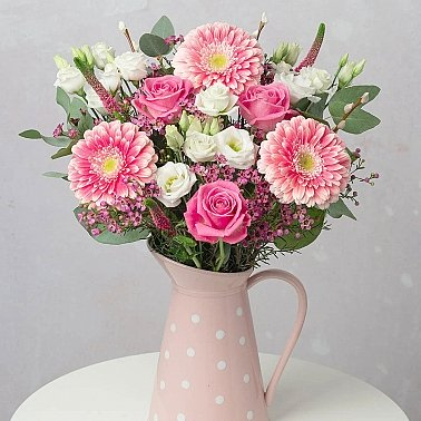 Pretty In Pink Bouquet Delivery UK