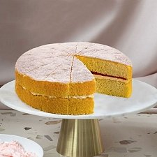 Raspberry Victoria Sponge Cake Delivery UK