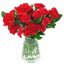 Red Carnations Bouquet Delivery to UK