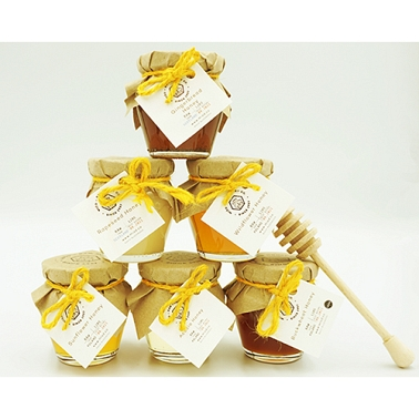 Raw Honey Gift Set of 6 delivery UK