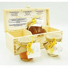 Forest Acacia Honey Gift Set of 3 Delivery UK
