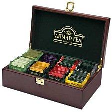 Ahmad Tea Wooden Tea keeper Box