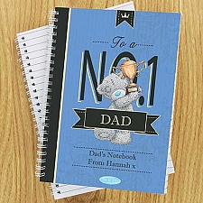 Personalised Me to You No1 Paperback A5 Notebook Delivery to UK
