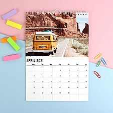 Personalised Outdoors Calendar Delivery to UK