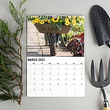 Personalised Gardening Calendar Delivery to UK