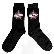 Personalised Star Mens Socks Delivery to UK