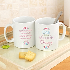 Personalised One in a Million Mug Delivery to UK