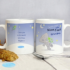 Personalised Tiny Tatty Teddy To the Moon and Back Mug Delivery to UK