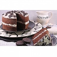 Cookies and Cream Sponge Cake