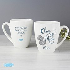 Personalised Love You to the Moon and Back Latte Mug Delivery to UK